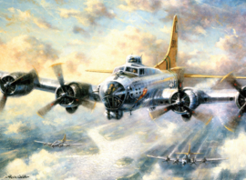 Painting By numbers A3: Flying Fortress