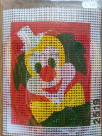 Borduurpakket: Clown