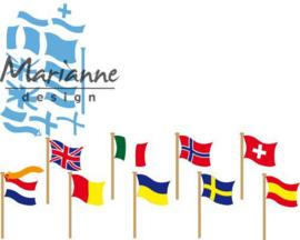 Marianne D Creatable vlaggen