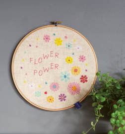 Borduurpakket: Flower Power
