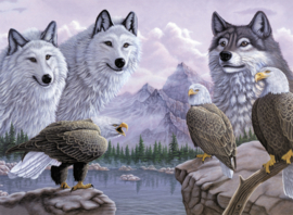 Painting By numbers A3: Wolves