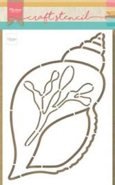 Marianne D Craft Stencil Zee Schelp