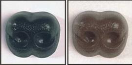 Beren Neus: 15mm Zwart