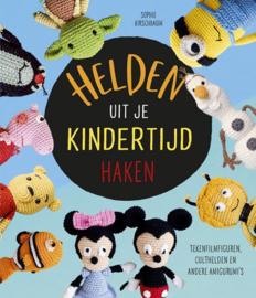 Haakboek: Helden uit je kindertijd haken