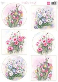 Marianne D Decoupage Mattie's Mooiste - Voorjaars Bloemen