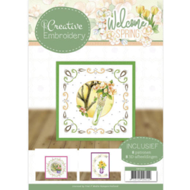 Jeanine's Art - Welcome Spring - Creative Embroidery 23