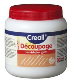 Creall: Decoupage lak: Glans