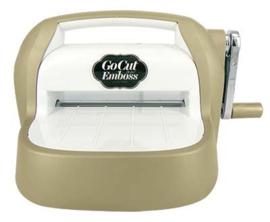 Go Cut & Emboss Machine (gold)