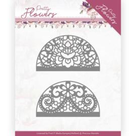 Marieke Design: Pretty Flowers Die: Lace Circle