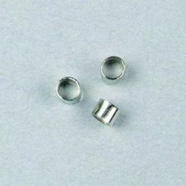 Knijpkralen 2,0 x 1,5mm (100st)
