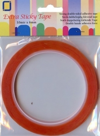 Extra Sticky Tape, 6mm