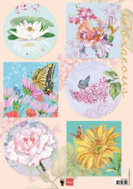 Marianne D Decoupage Gorgious Flowers