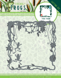Amy Design - Friendly Frogs - Frog Frame