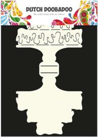 Dutch Doobadoo Dutch Card Art Stencil  Taart A4