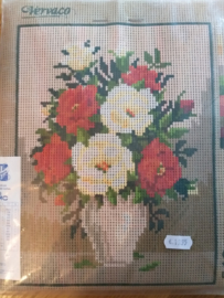 Borduurpakket: Vaas met Bloemen