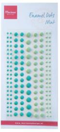Marianne D Decoration Enamal dots - Mint