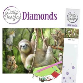 Diamond Painting: Sloth