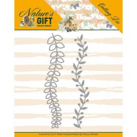 Precious Marieke - Nature's Gift - Leaves Border