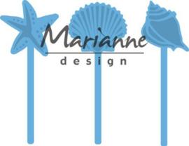 Marianne D Creatable zeeschelpen pins