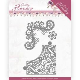 Marieke Design: Pretty Flowers Die: Lace Corner