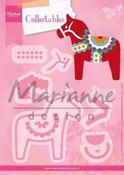 Marianne D Collectables Eline's Dala Horse