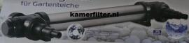 uvc unit Greenkiller 75watt RVS , anti algenlamp