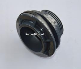 Flens doorvoer 32mm x 1`` (druk pvc)