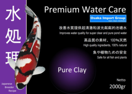 Premium Water Care Pure Clay 2000 gram