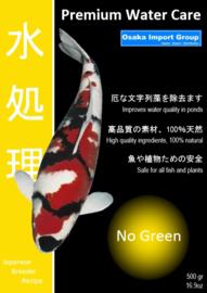 Premium Water Care No Green 500 gram / 10.000 ltr. voorkomt draadalg