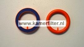 Ring luchtuitstromer 75mm