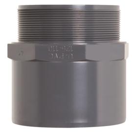 Pvc puntstuk 20/25mm x 1/2''   PN16