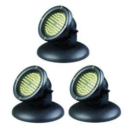 Vijverspot, onderwater verlichting  Aquaking LED-60x3 spots 6,5Watt ,set van 3 spots