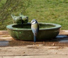 Vogelbad/ Vogel drinkschaal, keramiek