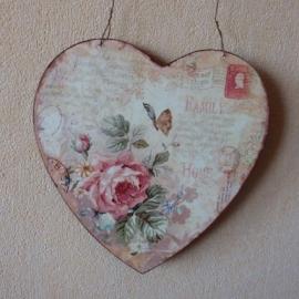 Hart 22x22 Rose