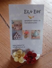 6 Naamkaart-standaardjes porcelein