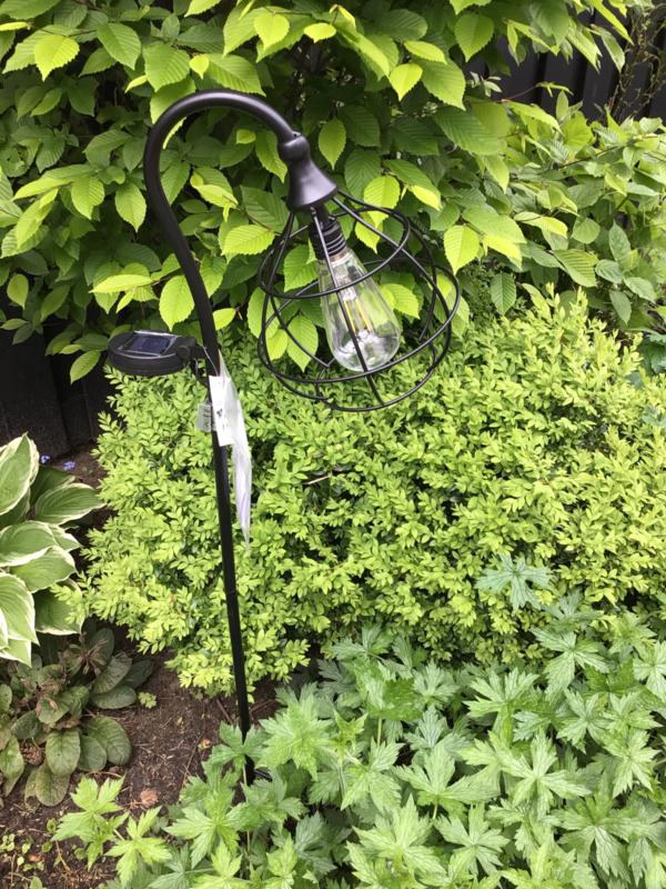 Tuinverlichting, solar lamp.
