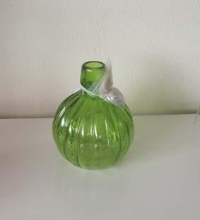 Olielamp/windlicht groen