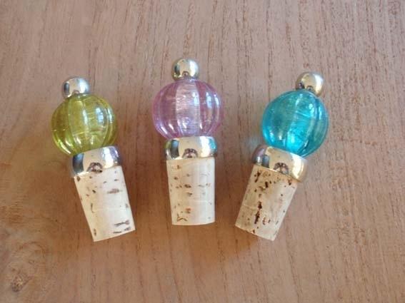 Wijnstop in drie kleuren