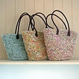 Mohair tas in 3 kleuren