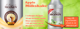 MONIN FRUITMIX Granny Smith Appel - groene appel 1 Liter