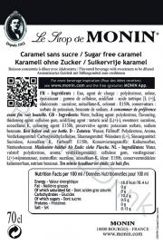 Monin Caramel (suikervrij) 70cl