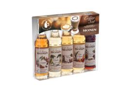 Monin Coffee gift set (5 x 50 ml)