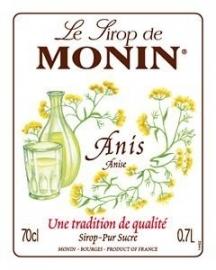 Monin Anis - anijs 70cl