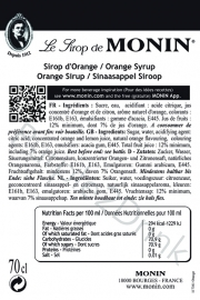 Monin Orange - sinaasappel 70cl