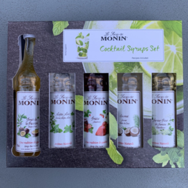 Monin Cocktail gift set (5 x 50ml)