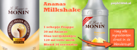 MONIN FRUITMIX Pineapple - Ananas 1 Liter