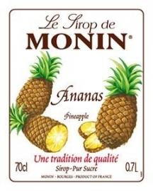 Monin Ananas - ananas 70cl