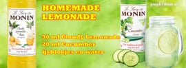 Monin Cloudy Lemonade 1 Liter PETFLES