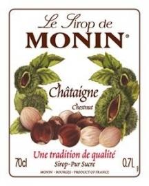 Monin Châtaigne - kastanje - Chestnut 70cl