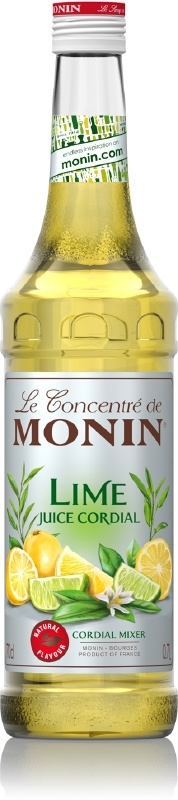 Monin Lime Juice Cordial 70cl